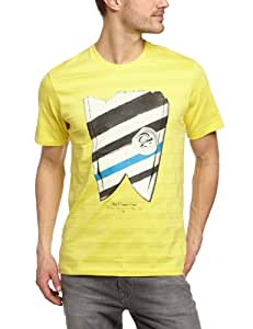 O'Neill Skeg T-Shirt manches courtes homme Sunshine Yellow FR : 42 (Taille Fabricant : L)