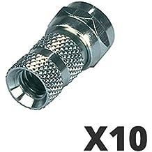 Conector F (10 unidades)