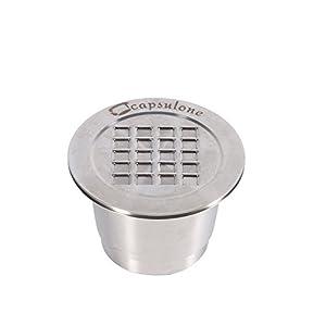 Capsula da Caffè Ricaricabile Nespresso Capsule Riutilizzabile in Acciaio Inox Coffee Capsule per Macchine Nespresso
