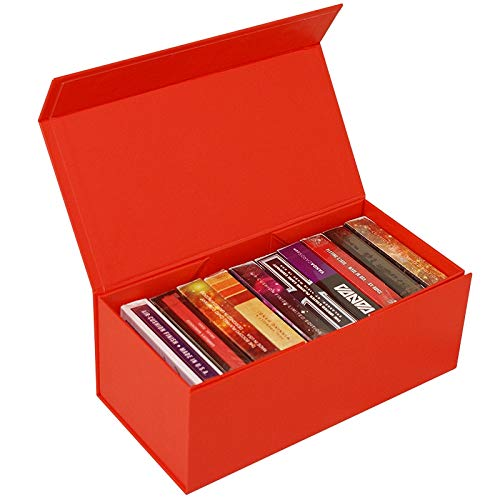 SOLOMAGIA BAISIK Playing Card Storage Box - Red - Accessories - Zaubertricks und Props