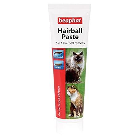 Beaphar Hairball Paste für Katzen, 2 in 1 Hairball Remedy