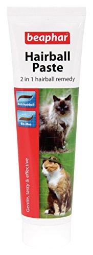beaphar Hairball Paste für Katzen, 2 in 1 Haarball