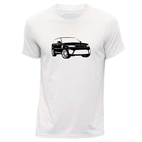 stuff4-hombres-medio-m-blanco-cuello-redondo-de-la-camiseta-plantilla-coche-arte-range-rover-svr