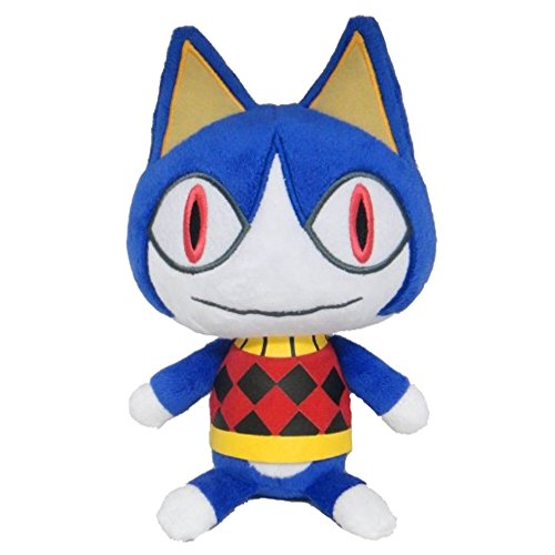 Nintendo Animal Crossing - Rover Plush - Cat - 15cm 6""