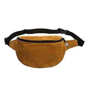 Bauchtasche, Cord breit caramel braun, Hip bag, Umhängetasche, fanny pack, belt bag, shoulder bag,
