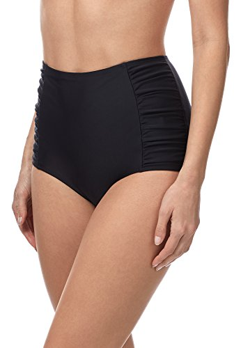 Merry Style Damen Bikinislip MS10-119 (Schwarz (9240), 42)
