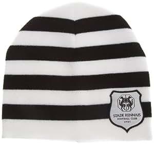 SRFC Stade Rennais Bonnet Logo Officiel homme Noir/Blanc Taille Unique