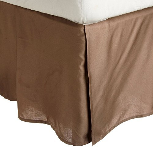 100-brushed-microfiber-bed-skirt-twin-xl-taupe-wrinkle-resistant-pleated-corners-by-luxor-treasures