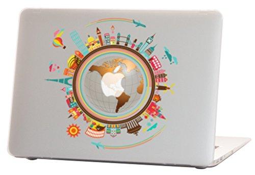 gummierte Hartschale für Modell A1369 & A1466, Weltweites Design mit klarem Boden, mit Tastaturabdeckung ()