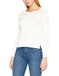 Only Onlmaia L/S Lace Pullover Knt, Pull Femme