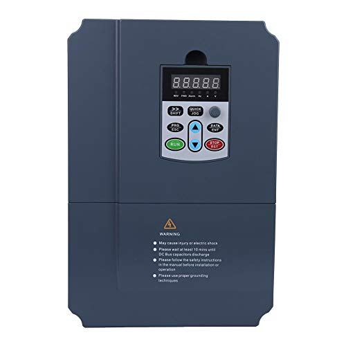 Frequenzumrichter VFD, Frequenzumrichter 3Phase 380VAC 11KW, Hochleistungs-Frequenzumrichter VFD Vector Controller, Drehzahlregler für Motorantrieb, für 3-Phasen-Motor - 3-phasen-motor