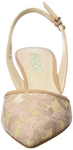 Paco Gil P2858 - Scarpe con Tacco Donna Beige (Beige (Camel))