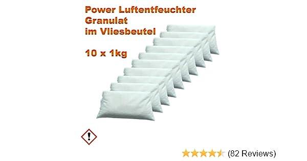 Luftentfeuchter 6 x 1,2 = 7,2 kg Granulat im Vliesbeutel für Raumentfeuchter