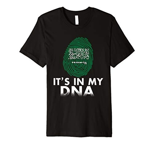 Saudi-Arabien IT 'S IN MY DNA T-Shirt – Saudi Arabian Pride (Arabian Shirt)