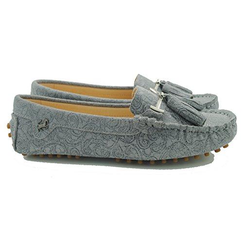 Minitoo , Sandales Compensées femme Floral-Grey
