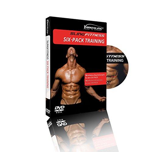 Variosling® Dvd Slingfitness Six Pack/Addominali Scolpiti - 16 Esercizi sui Muscoli Addominali per Un Allentamento in Sospensione/Sling Trainer | in Inglese e Tedesco