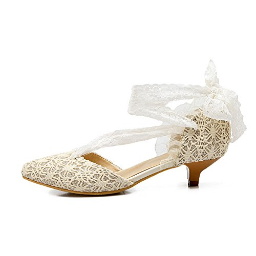 Balamasa - Sandales Compensées Beiges Pour Femmes