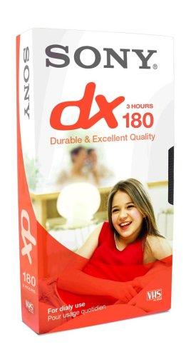 Sony-E-180-DX-Video-cassette-Confezione-da-1