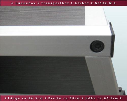 Hundebox / Alubox / Hundetransportbox / Autobox + Einlegematte Inbus-Verschraubung Größe S -