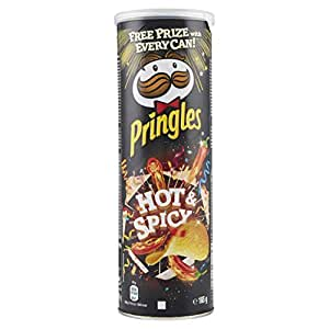 Pringles Hot & Spicy Chips (165g)
