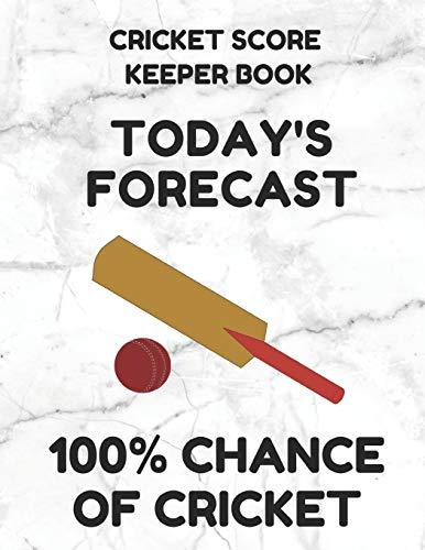 Zoom IMG-2 cricket score keeper book scorebook