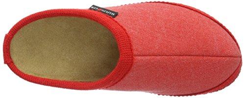 Haflinger Kreta, chaussons d'intérieur mixte adulte Rot (rubin)