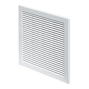 Air vent grille cover 150 x 150mm 6 x 6inch white ventilation cover diy tools - Grille ventilation hygroreglable ...