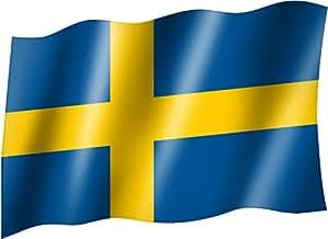 flagge fahne schweden staatsflagge landesflagge hissflagge mit sen 150x90 cm sehr gute. Black Bedroom Furniture Sets. Home Design Ideas