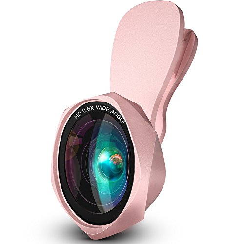 LUXSURE HD Handy Objektiv Set 100°Weitwinkelobjektiv+15X Makro Objektiv Lens linse für iPhone XS/XS max/xr/X/8 Plus,Samsung Galaxy Note s9/s8/s7