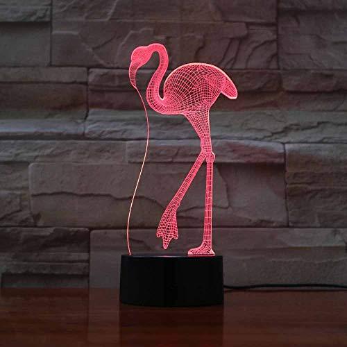 DFDLNL 3D Led Lampe Kran Nachtlichter 7 Farben Lamparas Touch Schalter Neuheiten Lichterkette Acryl Handwerk Tischlampen Für Kinder Geschenke