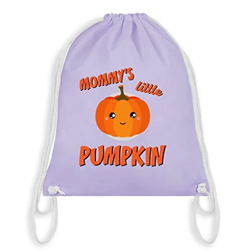 Anlässe Kinder - Mommys little Pumpkin Halloween - Unisize - Pastell Lila - WM110 - Turnbeutel & Gym ()