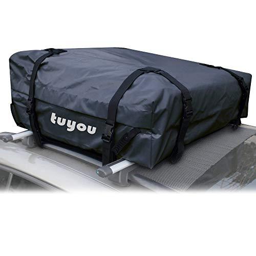 WDDP Auto Dachbox, Faltbare Dachtasche Wasserdicht Auto Dachkoffer Gepäckbox Tragbar Dachboxen Dachgepäckträger Tasche Für Reisen Und Gepäcktransport