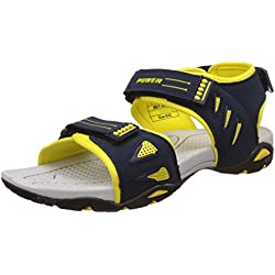 Power Men's Terry Blue Sandals and Floaters - 10 UK/India (44 EU)(8619005)