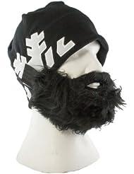 Lustige Bartmütze (Black Spencer) für Herren Damen - Perfekt geeignet als Skimaske - Skimütze – Snowbard Mütze - in drei Varianten erhältlich - Universalgröße