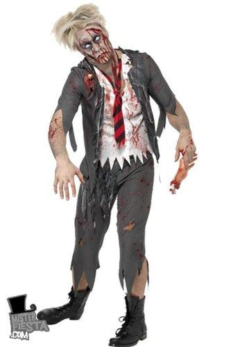 Kostüm Schuljunge Zombie - Zombie Kostüm Schuljunge (L - 52/54)