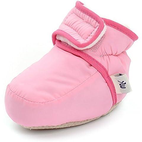 Bambino Ragazze Stivali Invernali Velcro presepe