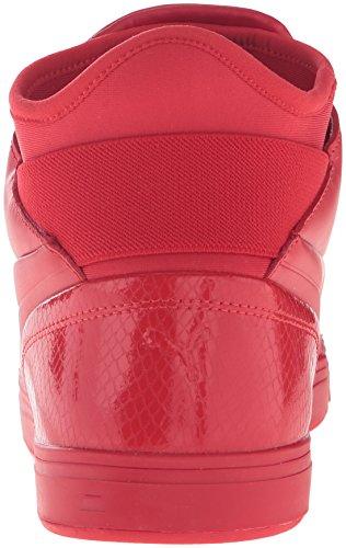 Puma Play PRM Cuir Baskets High Risk Red