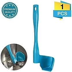 Charminer Spatule Tournante pour Thermomix TM5,TM6,TM31 Adapter pour la Séparation,la Collection et Le Nettoyage des Aliments (Bleu)