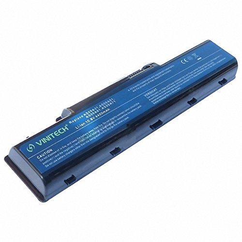 Vinitech Akku mit 10,8V 4400mAh für AS09A31 AS09A41 AS09A51 AS09A56 AS09A73 AS09A75 AS09A51 AS09A56 Acer eMachines G627 G630 G725 Aspire 5516G 5517G 5532G 5541 5732Z 5732Z 5735z 5732-ZG 5734-Z 5738-G 5735 5732-Z Packard Bell EasyNote TJ65 TJ66 TJ71 TJ72 TJ73 TJ74 TJ75 TJ76 TJ78 Packard Bell EasyNote TJ62 TJ63 TJ64 TJ65 TJ66