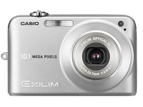 Casio EX Z1050SREDA Digital Camera Silver 100MP 3x in the future Zoom position Shoot Digital Cameras