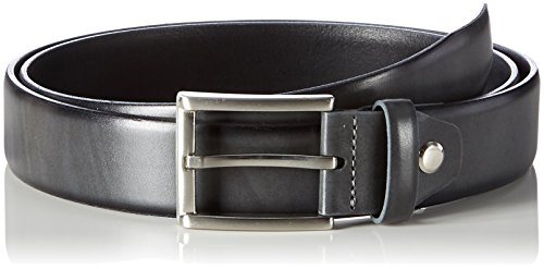 MLT Belts & Accessoires Herren Business-Gürtel London, Grau, 85 cm