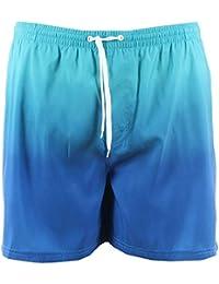 Elemar - Short de bain bleu dégradé - Elemar grande taille homme - Bleu