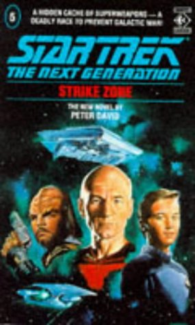 Cover of Strike Zone (Star Trek: The Next Generation 5)