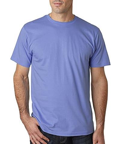 Anvil Herren One-Shoulder T-Shirt Small Violett