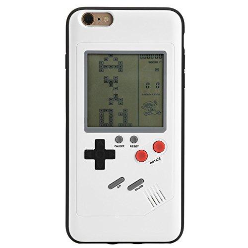 Zerone Gameboy Handy Hülle für iPhone 6 / 6s, Retro Tetris Handy Case TPU Schutzhülle für iPhone 6 / 6s