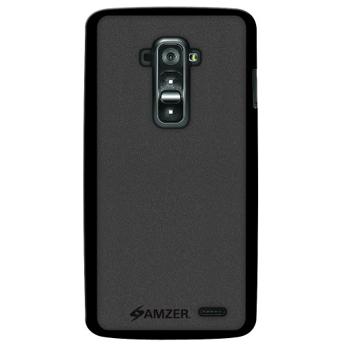 Amzer 96757 Pudding TPU Case - Black for LG G Flex D958  available at amazon for Rs.399