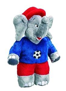 Schmidt Spiele 42198  - Benjamín, el Elefante, los futbolistas, 25cm