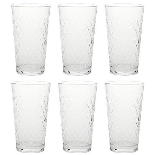 Rastal 122256 Apfelweinbecher, Apfelweinglas, 500ml H 15,5cm (6 Stück)