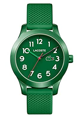 Lacoste Reloj Análogo clásico para Niños de Cuarzo con Correa en Silicona 2030001 de Lacoste