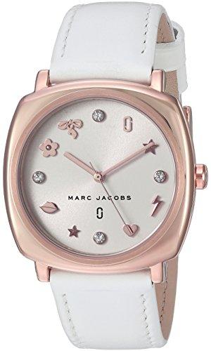 MARC JACOBS Mandy Reloj DE Mujer Cuarzo Correa DE Cuero Caja DE Acero MJ8678